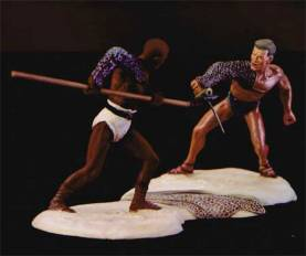 Conte Collectibles Those Who Are About to Die Draba vs. Spartacus #SPA028 NIB