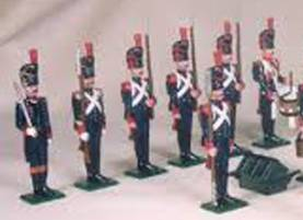French Artillery Of The Guard