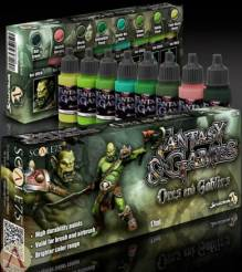 Scale Color- Orcs and Goblins Fantasy & Gaming Paint Set