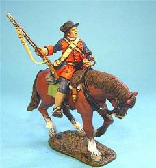 BATTLE ON THE MONONGAHELA 1755 - VIRGINIA STEWARTS LIGHT HORSE #VM-05 - 1 AVAILABLE OOP