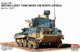 British Mk VI B Light Tank North Africa