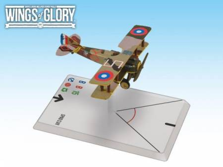 Wings of Glory WWI Miniatures: Spad S.VII (Soubiran)