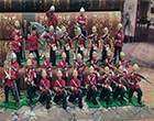 Vintage Metal Toy Soldiers Post 1970