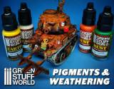Green Stuff World - Pigments and Weathering