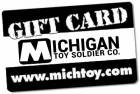 Michigan Toy Soldier Gift Cards