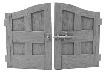 Wooden Carriage Gate Doors