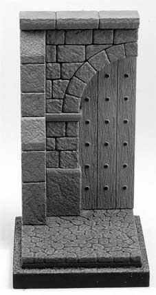 Medieval Doorway-Half Figure Base