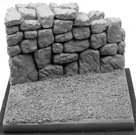Stone Wall Figure Base