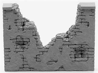 Ruined Wall Section