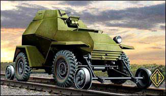 Ba64 V/G Railroad Version Soviet Armored Car