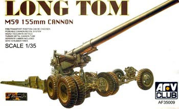 M59 155mm Long Tom Gun