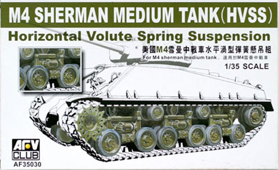 Wheels & Suspension (HVSS) for M4 Sherman Medium Tank