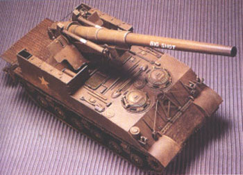 M40 Big Shot US 155mm Gun Motor Carriage