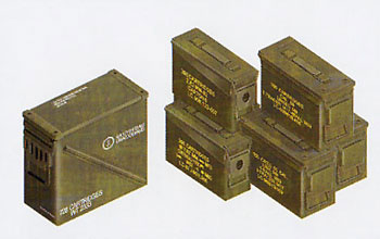 .30/.50 Cal. 40mm Modern US Ammo Boxes & Belts