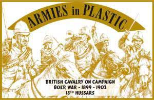 Boer War 1899-1902 British Cavalry on Campaign 13th Hussars
