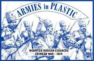 Crimean War 1854 Mounted Russian Cossacks, Crimean War 1854