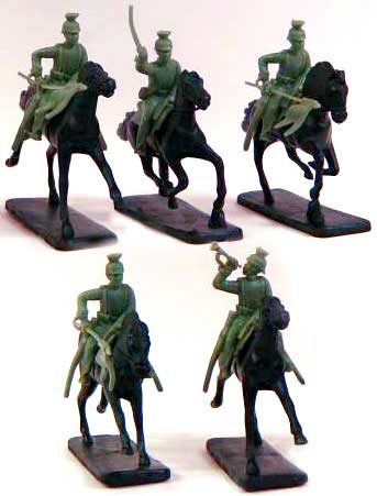 Franco-Prussian War Mounted German Uhlans