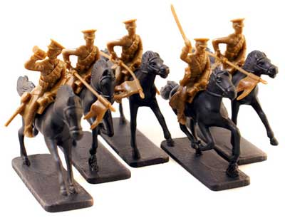 WWI Mounted British Lancers