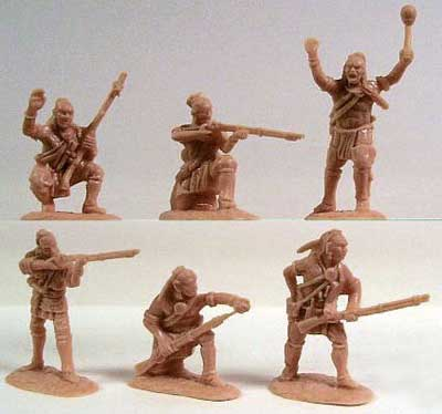 French & Indian War 1754-63 Northeastern Woodland Indians Set #1