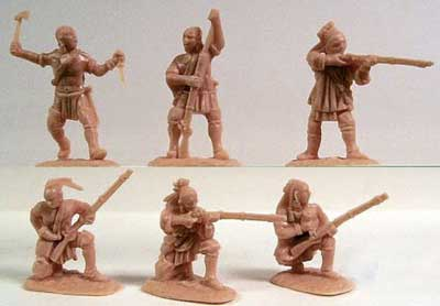 French & Indian War 1754-63 Northeastern Woodland Indians Set #2