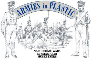 Napoleonic Wars Russian Army Musketeers