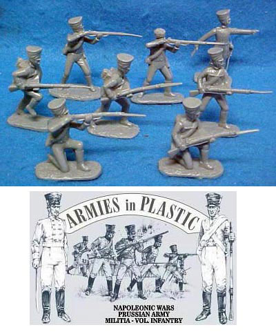 Napoleonic Wars Prussian Army Militia Volunteer Infantry
