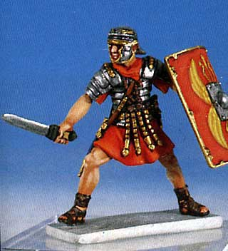 Roman Soldier in Battle #1