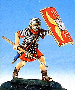 Roman Soldier in Battle #2