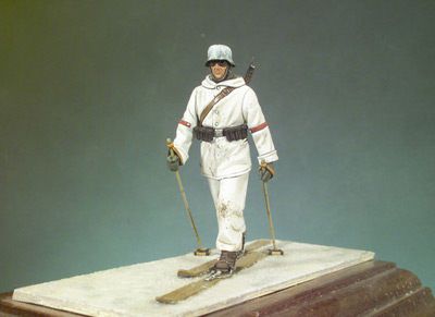 German Ski Rifleman