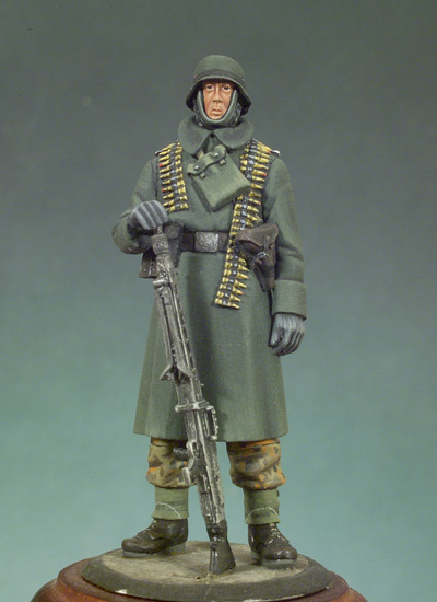 German MG42 Gunner