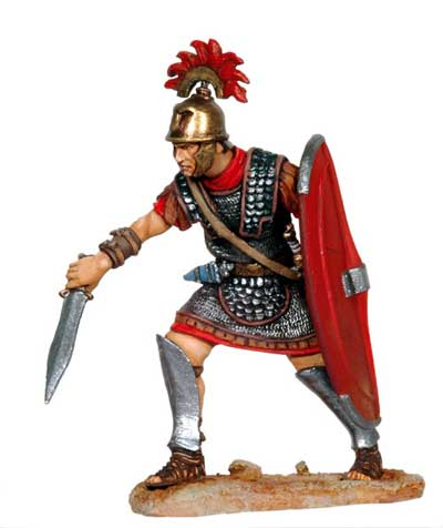 The Battle of Zama: Thrusting Roman Centurion