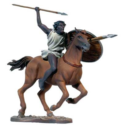 The Battle of Zama: Numidian Horseman