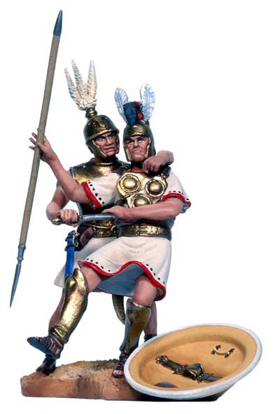 The Battle of Zama: Roman Infantryman & Samnite Heavy Infantryman
