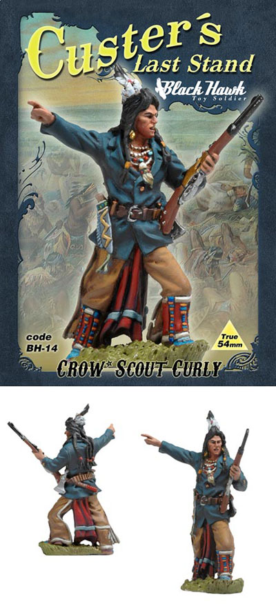 Custers Last Stand- Crow Scout Curly - ONLY 1 AVAILABLE AT THIS PRICE