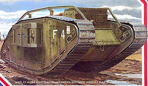 WWI British Female Mk. IV Tank