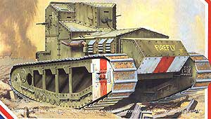 WWI British Medium A Whippet Tank