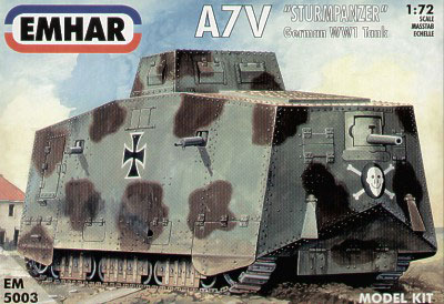 WWI A7V German Tank