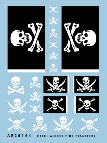 Jolly Roger Flags & Markings