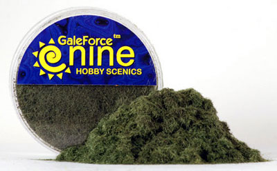 Hobby Rounds- Dark Green Static Grass