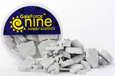 Hobby Rounds- Concrete Rubble Mix