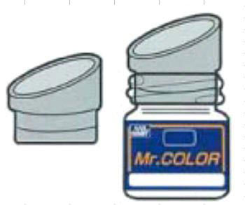 Spout for Mr. Color Paint Bottle