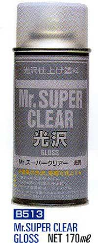 Mr. Super Clear Gloss Spray (170ml)
