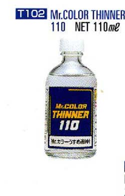 Mr. Color Paint Thinner 110ml Bottle