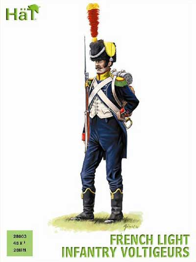 Napoleonic French Light Infantry Voltigeurs
