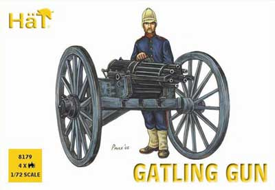 Colonial Wars Gatling Gun