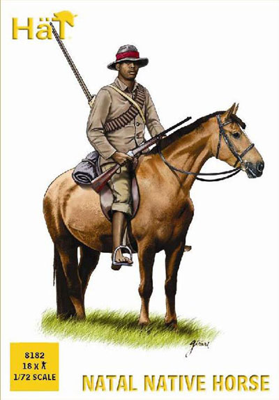 Colonial Wars Natal Native Horsemen