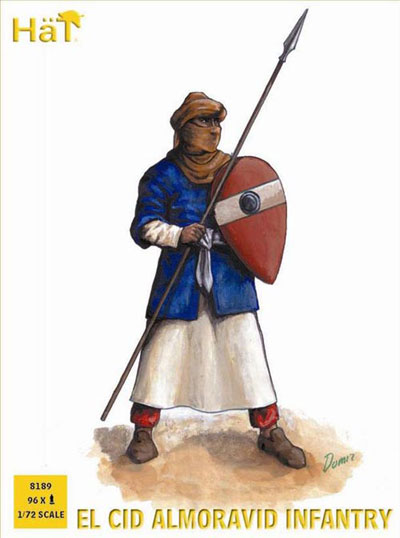Ancient El Cid Almoravid Infantry