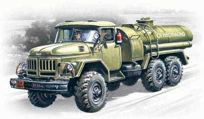 WWII TZ4-131 Military Fuel Truck