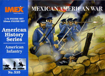 US Infantry, Mexican American War 1840