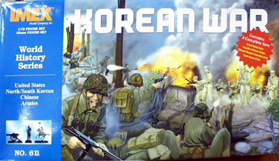 Korean War Playset